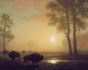 Artist Albert Bierstadt 1901-1985.