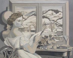 Artist Francis Criss 1901-1973.