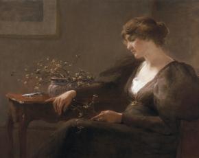 Artist Mary Estelle Dickson 1858-1906.