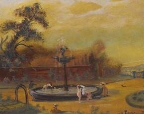 Artist Louis Eilshemius 1864-1941.