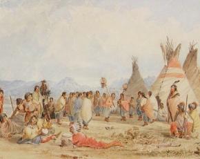 Artist Seth Eastman 1808-1875.