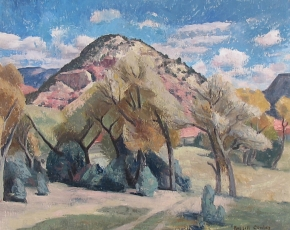 Artist Russell Cowles 1887-1979.
