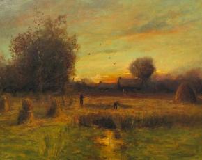 Artist Dubois Fenelon Hasbrouck 1860-1934.