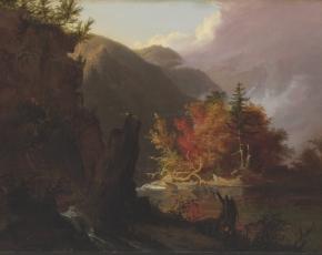 Artist Thomas Cole 1801-1848.