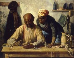 Artist Harry Roseland 1868-1950.