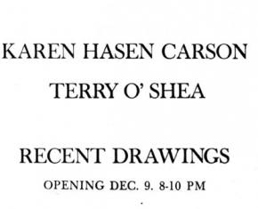 Karen Carson & Terry O'Shea