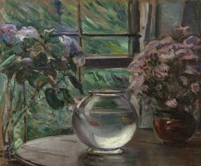 Elizabeth Nourse (1859–1938), Etude, Fleurs, 1911, oil on canvas, 26 x 26 in. (detail)