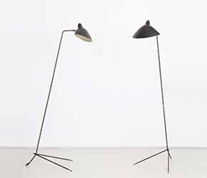Serge Mouille - Pair of floor lamps