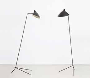 Serge Mouille - Pair of floor lamps