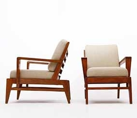 René Gabriel - Pair of armchairs