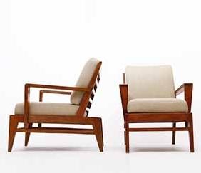 René Gabriel - Pair of armchairs