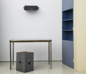 """Installation image from """"Le Corbusier and his Associates"""" 2019, Magen H Gallery"""