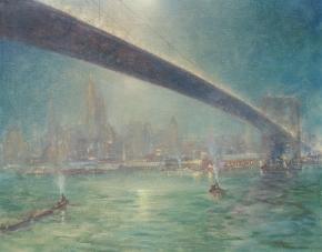 Bridge Nocturne c.1945