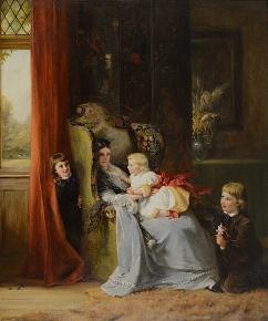 Hide and Seek c.1869