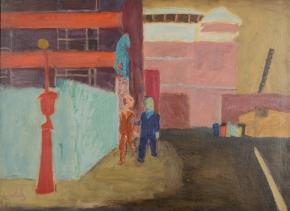 ASPCA: Street Near Bellevue 1939