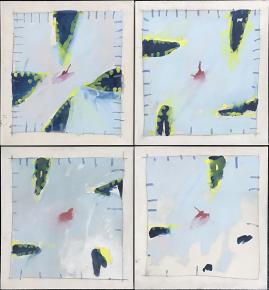 Untitled Four Panel Suite 1974