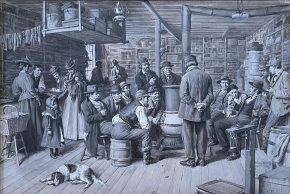The Country Store as a Social Centre c.1900