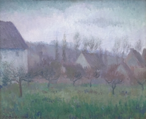 Farm Orchard in Winter, Giverny