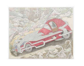 "Critic's Pick: ""William A. Hall: Car Drawings, 2008-2017"""