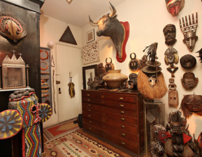 After an Artist's Death, His Home Becomes a Work of Art