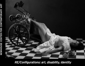 """Charles Steffen in Exhibition Titled """"RE/Configurations: art, disability, identity"""""""