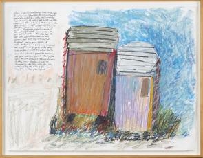 Beverly Buchanan at Andrew Edlin Gallery