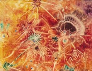 Eugene Von Bruenchenhein: Phantasmagorical Paintings 1957-61