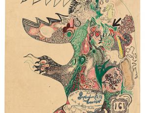"""Susan Te Kahurangi King in """"One Hundred Drawings"""""""