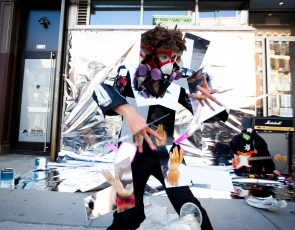 David Henry Brown Jr: Mirror Mirror Man (performance)
