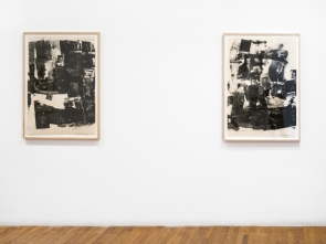 Jasper Johns and Robert Rauschenberg