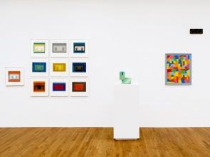 Josef Albers and Ken Price Exhibition
