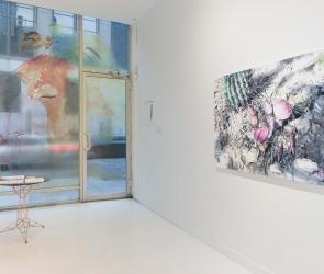 Installation view of Eric LoPresti artwork