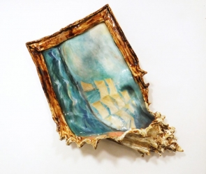 Valerie Hegarty painting