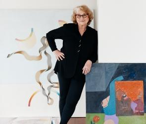 Barbara Nessim portrait
