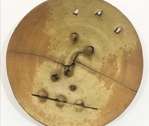 Detail of Peter Voulkos plate