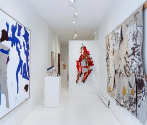 Installation view of Oliver Lee Jackson: Untitled Original
