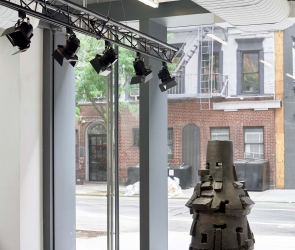 Installation view of Peter Voulkos: Stacks
