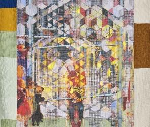 Jesse Krimes quilt