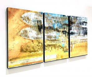 Painting triptych