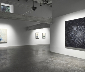 Installation view of Amy Myers: Daughter Universes
