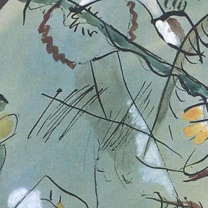 Detail from a work by Wassily Kandinsky