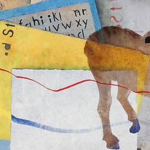 Detail of works by T. Lux Feininger