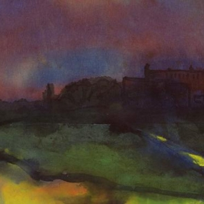 Detail of painting by Emil Nolde