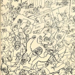 Pandemonium by George Grosz