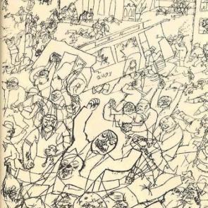 Pandemonium by George Grosz