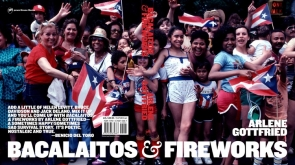 Bacaliatos and fireworks book cover by Arlene Gottfried
