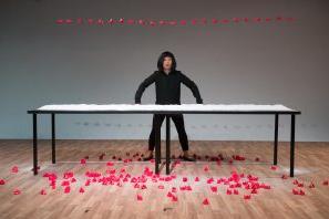 CHUN HUA CATHERINE DONG IN INTERNATIONAL PERFORMANCE ART FESTIVAL