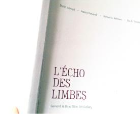 EVE K. TREMBLAY IN THE CATALOGUE L'ÉCHO DES LIMBES