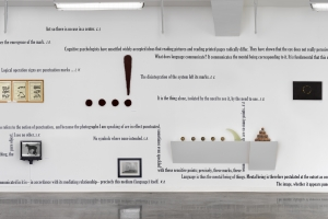 Castelli Gallery, Dot, Point, Period, Exhibition Wall 3