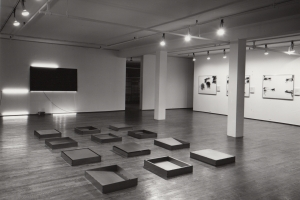 Robert Barry / Donald Judd / Robert Morris / Keith Sonnier
